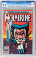 Modern Age (1980-Present):Superhero, Wolverine (Limited Series) #1 (Marvel, 1982) CGC NM/MT 9.8Off-white to white pages....