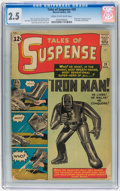 Silver Age (1956-1969):Superhero, Tales of Suspense #39 (Marvel, 1963) CGC GD+ 2.5 Cream to off-whitepages....