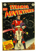 Golden Age (1938-1955):Science Fiction, Strange Adventures #9 (DC, 1951) Condition: Apparent FN-....