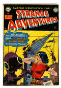 Golden Age (1938-1955):Science Fiction, Strange Adventures #7 (DC, 1951) Condition: GD/VG....