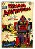 Golden Age (1938-1955):Science Fiction, Strange Adventures #3 (DC, 1950) Condition: VG....