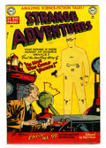 Golden Age (1938-1955):Horror, Strange Adventures #5 (DC, 1951) Condition: GD/VG....