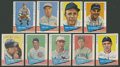 Autographs:Sports Cards, 1961 Fleer Baseball Signed Cards Lot of 9. ...