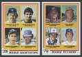 Baseball Cards:Lots, 1978 Topps Baseball Jack Morris and Paul Molitor Rookie Cards Pair. ... (Total: 2 cards)