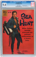 Silver Age (1956-1969):Adventure, Sea Hunt #7 (Dell, 1960) CGC NM 9.4 Off-white pages....