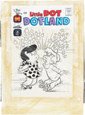 Original Comic Art:Covers, Warren Kremer Little Dot Dotland #25 Cover Original Art(Harvey, 1966)....