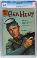 Silver Age (1956-1969):Adventure, Sea Hunt #8 (Dell, 1961) CGC NM 9.4 Off-white pages....