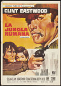 "Movie Posters:Crime, Coogan's Bluff (Universal, 1968). Spanish Poster (27.75"" X 39.5"").Crime.. ..."