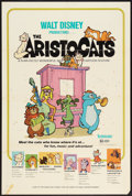 "Movie Posters:Animated, The Aristocats (Buena Vista, 1971). One Sheet (27"" X 41"").Animated.. ..."