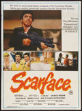 """Movie Posters:Crime, Scarface (Universal, 1984). Indian Poster (29.5"""" X 40""""). Crime....."""