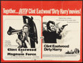 """Movie Posters:Crime, Dirty Harry/Magnum Force Combo (Warner Brothers, R-1975). BritishQuad (30"""" X 40""""). Crime.. ..."""