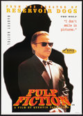 "Movie Posters:Crime, Pulp Fiction (Miramax, 1994). British Poster (24"" X 34"") HarveyKeitel Style. Crime.. ..."