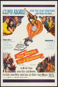 "Movie Posters:Adventure, Five Weeks in a Balloon (20th Century Fox, 1962). One Sheet (27"" X41""). Adventure.. ..."