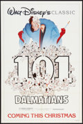 "Movie Posters:Animated, 101 Dalmatians (Buena Vista, R-1985). One Sheet (27"" X 41"").Animated.. ..."