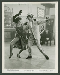 """Cyd Charisse and Fred Astaire in """"The Band Wagon"""" (MGM, 1953). Still (8"""" X 10""""). Musical"""