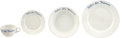 Political:3D & Other Display (1896-present), Woman's Suffrage: Alva Belmont Suffrage Dinnerware.... (Total: 4 Items)