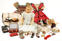"""""""Rose Percy"""" Doll with Extensive Wardrobe and Accessories, Sold in 1864 to Raise Funds for the Sanitary Commis..."""