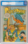 Golden Age (1938-1955):Superhero, Supersnipe Comics V3#2 Crowley pedigree (Street & Smith, 1946)CGC NM 9.4 Off-white pages....