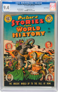 Golden Age (1938-1955):Non-Fiction, Picture Stories from World History #1 Gaines File pedigree 3/11(EC, 1947) CGC NM 9.4 Off-white to white pages....