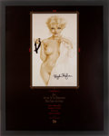 Movie/TV Memorabilia:Autographs and Signed Items, Hugh Hefner Signed Playboy New Year's Eve Party Poster....
