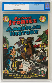 Picture Stories From American History #2 Gaines File pedigree 8/11 (EC, 1946) CGC NM+ 9.6 Off-white pages