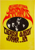 Music Memorabilia:Posters, Yardbirds One Sunday Afternoon Poster (Konst-Sweden, 1967). . ...
