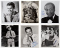 Movie/TV Memorabilia:Autographs and Signed Items, Jimmy Stewart and Other Actors Signed Photos.... (Total: 6 )