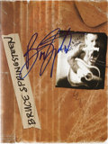 Music Memorabilia:Autographs and Signed Items, Bruce Springsteen Autographed Tour Book....
