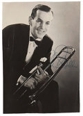 Music Memorabilia:Autographs and Signed Items, Glenn Miller Signed Photo....
