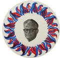 "Political:Pinback Buttons (1896-present), Barry Goldwater: Rare Variety of Large 6"" Button...."