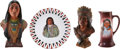 Antiques:Decorative Americana, [American Indian] Four Indian Theme Items.... (Total: 4 Items)