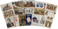 Political:Small Paper (1896-present), Early 20th Century Political Campaign Post Cards: Lot ofSeventeen.... (Total: 17 Items)