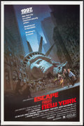 """Movie Posters:Action, Escape from New York (Avco Embassy, 1981). Poster (40"""" X 60""""). Action.. ..."""
