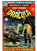 Bronze Age (1970-1979):Horror, Tomb of Dracula #1 (Marvel, 1972) Condition: VF....