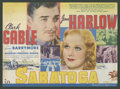 "Movie Posters:Comedy, Saratoga Lot (MGM, 1937). Heralds (2) (9"" X 12""). Comedy.. ... (Total: 2 Items)"