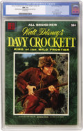 Golden Age (1938-1955):Miscellaneous, Dell Giant Comics - Davy Crockett #1 (Dell, 1955) CGC NM 9.4 Off-white pages....