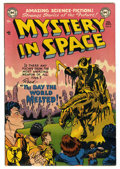 Golden Age (1938-1955):Science Fiction, Mystery in Space #6 (DC, 1952) Condition: VG....