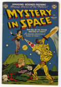 Golden Age (1938-1955):Science Fiction, Mystery in Space #8 (DC, 1952) Condition: FN....