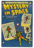 Silver Age (1956-1969):Science Fiction, Mystery in Space #18 (DC, 1954) Condition: FN....