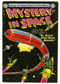 Golden Age (1938-1955):Science Fiction, Mystery in Space #19 (DC, 1954) Condition: FN+....