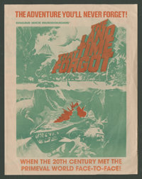 """The Land That Time Forgot (American International, 1975). Herald (Folded Out, 11"""" X 17""""). Science Fiction"""
