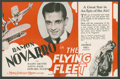 "Movie Posters:Adventure, The Flying Fleet (MGM, 1929). Herald (Folded Out, 5.75"" X 9"").Adventure.. ..."
