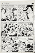 Original Comic Art:Panel Pages, Jack Kirby and Vince Colletta Journey Into Mystery #116 ThorPage 9 Original Art (Marvel, 1965)....