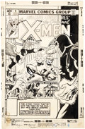Original Comic Art:Covers, John Byrne and Al Milgrom Amazing Adventures #9 X-Men CoverOriginal Art (Marvel, 1980)....