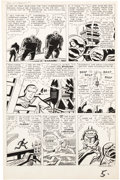 """Original Comic Art:Panel Pages, Jack Kirby and Dick Ayers Tales of Suspense #23 """"I Enteredthe Dimension of Doom"""" Page 5 Original Art (Marvel, 196..."""