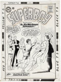 Original Comic Art:Covers, Curt Swan and George Klein Superboy #104 Cover Original Art(DC, 1963)....