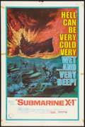 "Movie Posters:War, Submarine X-1 (United Artists, 1968). One Sheet (27"" X 41""). War....."