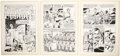 """Original Comic Art:Complete Story, John Severin Our Fighting Forces #124 Complete 8-page Story""""Parable"""" Original Art (DC, 1970)...."""
