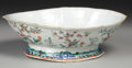 Asian:China Trade, A CHINESE EXPORT PORCELAIN BOWL. 19th Century. 11 inches (27.9 cm)long. ...