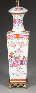 Asian:Chinese, A CHINESE PORCELAIN VASE. 20th Century. 12-1/2 inches (31.8 cm)high . ... (Total: 2 Items)